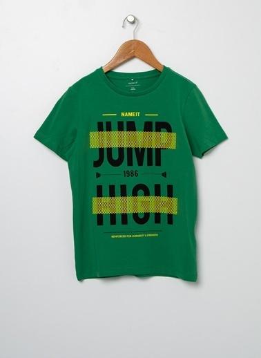 Name It Tişört Yeşil